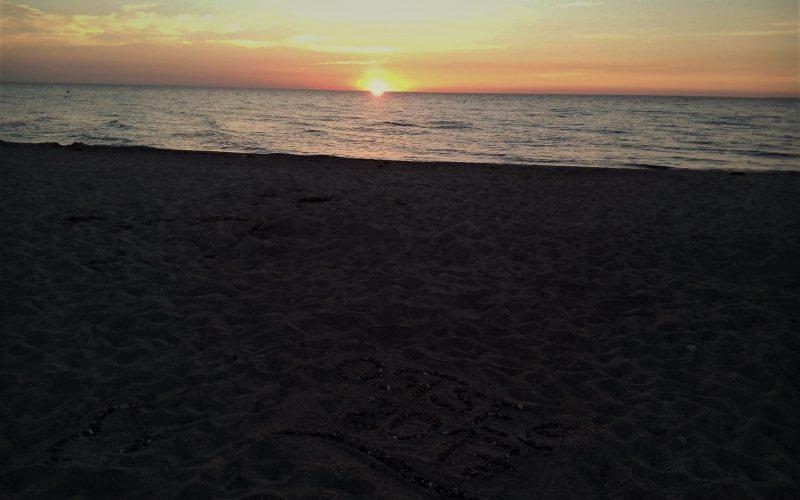 Sonnenaufgang in Dahme! Es wird ein herrlicher Tag!